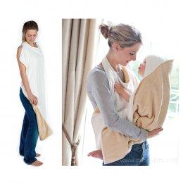 Cuddledry ผ้าเช็ดตัวเด็ก Hands-Free Baby Bath Towel