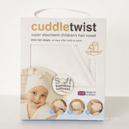 Cuddletwist ผ้าเช็ดผมเด็ก - Cuddledry