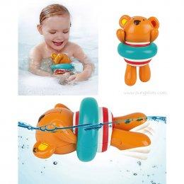 Swimmer Teddy Wind-Up Toy คุณหมีกรรเชียงไขลาน