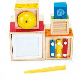 Stacking Music Set เซตกล่องดนตรีเรียงซ้อน ของเล่นเสริมพัฒนาการ