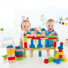 Build Up and Away Blocks บล็อกไม้มหาสนุก