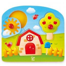 Country Peg Puzzle ปริศนาหมุดหมู่บ้านสุขสันต์