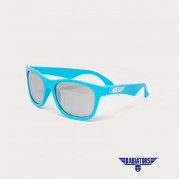 แว่นตากันแดดเด็ก ACES by BABIATORS 7-14 ปี สี Electric Blue with Mirrored lenses