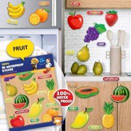 สติ๊กเกอร์กันน้ำ ลายผลไม้ Fruit