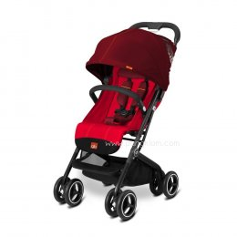 รถเข็นเด็ก Qbit+ THE LUXURY TRAVELLER Red