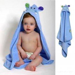 ผ้าขนหนูเช็ดตัวเด็ก+Hoodคลุมศีรษะ zoocchini