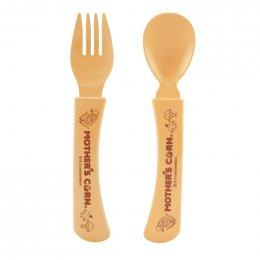 Mother's corn ชุดช้อนส้อม Spoon & Fork Set