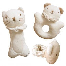 Kitty & Baby Bear (3 Piece Set)  (John N Tree)