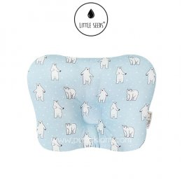 หมอนหัวทุย Little Seeds Newborn Pillow - Dancing Bear