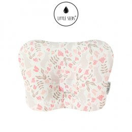 หมอนหัวทุย Little Seeds Newborn Pillow - Rabbit Garden
