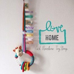 Qd Rainbow Toy Strap-Home สายห้อยสายรุ้งอเนกประสงค์