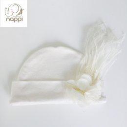 หมวกเด็กอ่อน Nappi With Bow