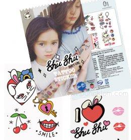 Shu Shu Tattoo Sticker