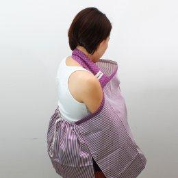 ผ้าคลุมให้นม Beanie Nap รุ่นมีผ้าปิดหลัง ลาย Violet