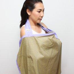 ผ้าคลุมให้นม Beanie Nap Nursing cover ลาย Green Roll