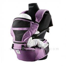 เป้อุ้มเด็กแบบที่นั่งคาดเอว Pognae รุ่น Hipseat 3 in 1 สี O-Purple