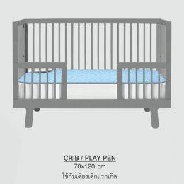 แผ่นรองเตียงดูดซับน้ำ (แผ่นรองกันเปื้อน) Super sorber Crib, Play pen ขนาด 70x120cm