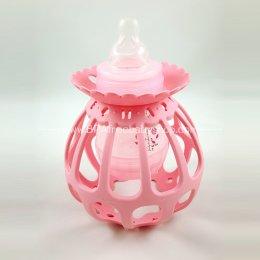 ของใช้เด็ก Mamma Ball ที่จับขวดนมเสริมพัฒนาการ-สีชมพู
