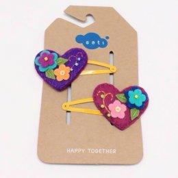 Sati กิ๊บติดผมเด็กหญิง Hairclip - V. Lovely Heart