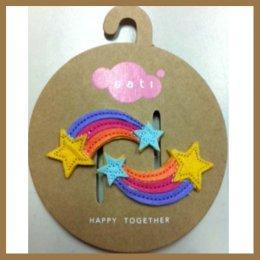 Sati กิ๊บติดผมเด็กหญิง Hairclip - Rainbow