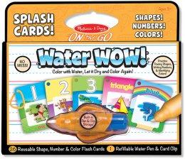 ของเล่นเด็ก ชุดแฟลชการ์ดระบายด้วยน้ำ-ชุดรูปร่าง ตัวเลข และสี