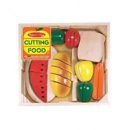 ของเล่นเด็ก Melissa and Doug - ชุดเล่นหั่นอาหาร Cutting Food