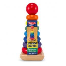 ของเล่นเด็ก มาลิซซ่าแอนด์ดัก ชุดหอคอยสีรุ้ง