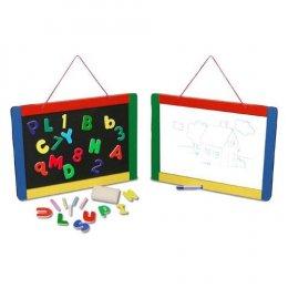 ของเล่นเด็ก ชุดกระดานและอักษรแม่เหล็ก ชอล์คและไวท์บอร์ด