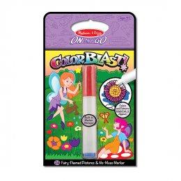 ของเล่นเด็ก Melissa and Doug - สมุดชุดระบายสีด้วยปากกาแมจิก - รูปนางฟ้า