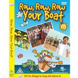 DVD เพลงสำหรับเด็ก Row, Row, Row Your Boat