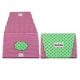 กระเป๋าทิชชู่เปียก Beanie nap Wipe Clutch - Green Dot