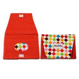 กระเป๋าทิชชู่เปียก Beanie nap Wipe Clutch - Colorful