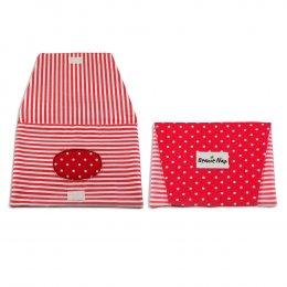 กระเป๋าทิชชู่เปียก Beanie nap Wipe Clutch - Pink Dot