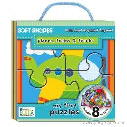 Soft Shapes - Planes, Trains & Trucks