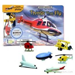 หนังสือ พร้อมของเล่นประกอบการเรียนรู้ Junior Groovies - Things That Fly