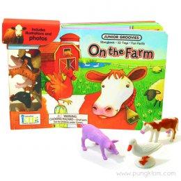 หนังสือ พร้อมของเล่นประกอบการเรียนรู้ Junior Groovies - On The Farm