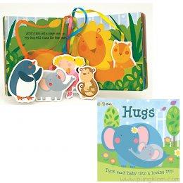 หนังสือนิทานเด็ก พร้อมการ์ดรูปตัวละคร Tether Books - Hugs