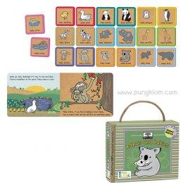 หนังสือนิทานเด็ก พร้อมการ์ดเกมจับคู่ Book & Game Sets - Mamas and Babies
