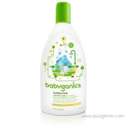 Babyganics โฟมใส่อ่างอาบน้ำ กลิ่นคาร์โมมายด์ เวอร์บีน่า ขนาด 591 มล.
