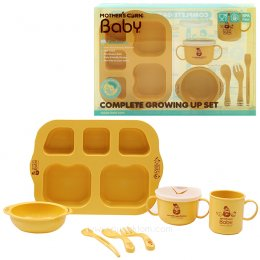 Mother's corn ชุดทานอาหาร Complete Growing up set