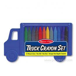 Truck Crayon Set สีเทียน Non-toxic 12 แท่ง