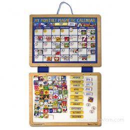 กระดานปฏิทินรายเดือน My Monthly Magnetic Calendar