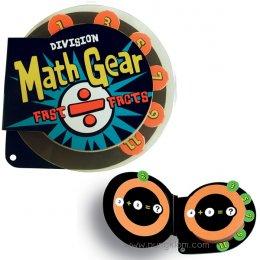 แฟลชการ์ดฝึก หารเลข Math Gear - Division