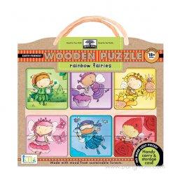 พัซเซิลไม้ Wooden Puzzles - Rainbow Fairies