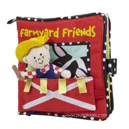 Manhattan Toy - Farmyard Friends หนังสือผ้าสำหรับเด็ก