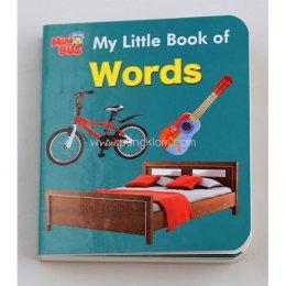 หนังสือภาษาอังกฤษเสริมทักษะชุด Mini Bus: My Little book of Word