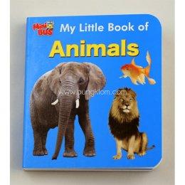 หนังสือภาษาอังกฤษเสริมทักษะชุด Mini Bus: My Little book of Animal