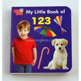 หนังสือภาษาอังกฤษเสริมทักษะชุด Mini Bus: My Little book of 123