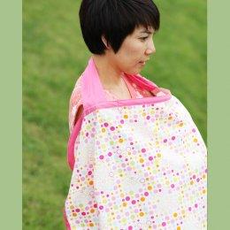 ของใช้คุณแม่ ผ้าคลุมให้นม Beanie Nap Nursing cover ลาย Pink Lover