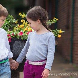 Myselfbelts เข็มขัดเด็กเล็กให้เด็กฝึกถอด-ใส่เอง Size XS